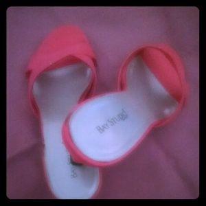 Coral Low heel sandal